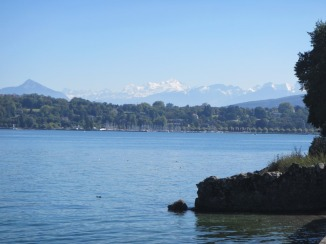 Mont Blanc from Lake Geneva